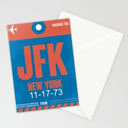 JFK New York Luggage Tag 1 Stationery Cards