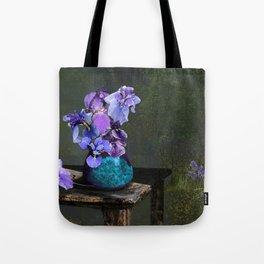 Morning Blues Tote Bag