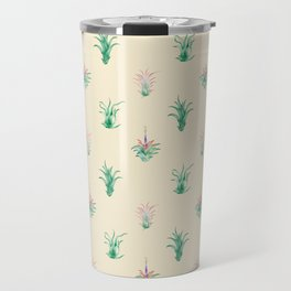 Watercolor Tilandsia Airplant Travel Mug