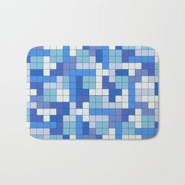 Tetris Camouflage Marine Bath Mat