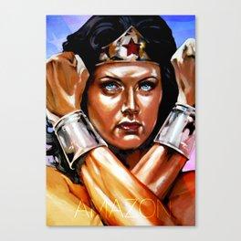 Amazon II - Lynda Carter Canvas Print