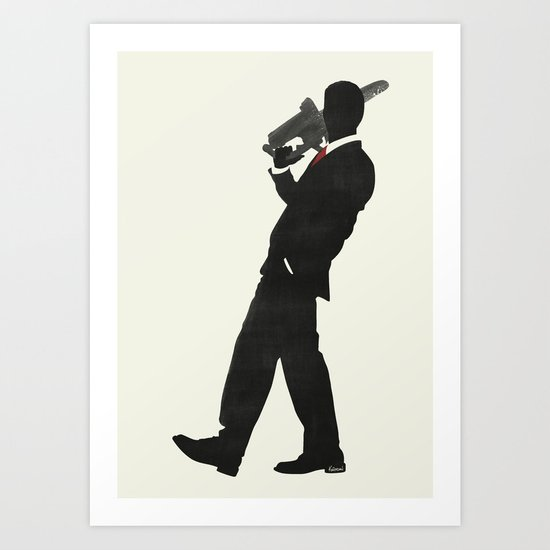 American Psycho Minimalist Poster Art Print