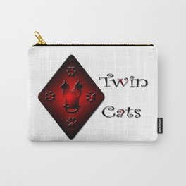 Twin Cats. Gemini star sign. Carry-All Pouch
