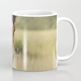 Brown horse portrait Coffee Mug