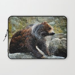 Bear out of the Water Laptop Sleeve