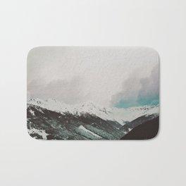 Moody Mountains Bath Mat