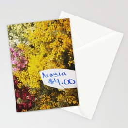 Acasia $4.00 Stationery Cards