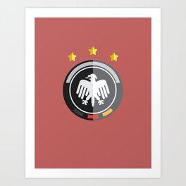 WORLDCUP IS COMING! - GERMANY Art Print