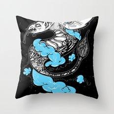 Dragon Cloud Throw Pillow