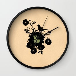 Georgia - State Papercut Print Wall Clock