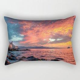 Antibes Sunrise Rectangular Pillow