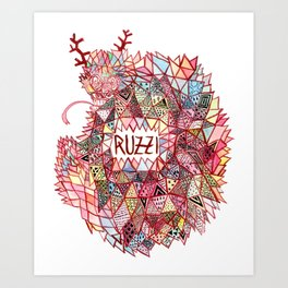 Ruzzi # 001 Art Print