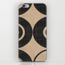 Black Orbs iPhone Skin
