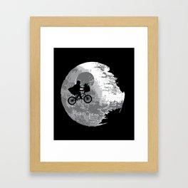 Yoda Phone Home Framed Art Print
