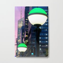 Entering the Subway, Subway Totems in New York City Metal Print