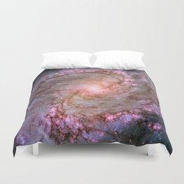 Spiral Galaxy M83 Duvet Cover
