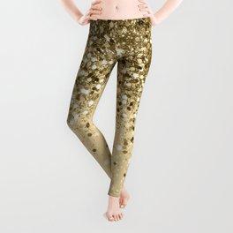 Cali Summer Vibes Lady Glitter #1 #shiny #decor #art #society6 Leggings