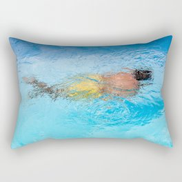 Le nageur  Rectangular Pillow