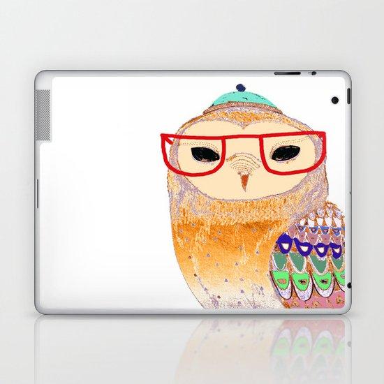 Pretty Awesome owl Laptop & iPad Skin