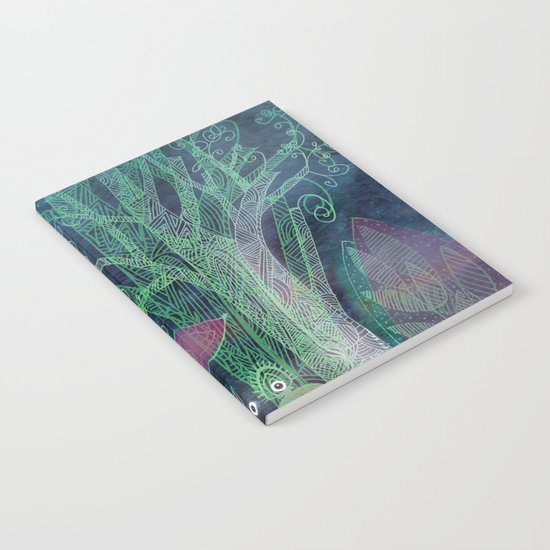 misty forest Notebook