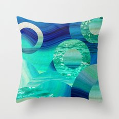 SEA-NCHRONICITY Throw Pillow