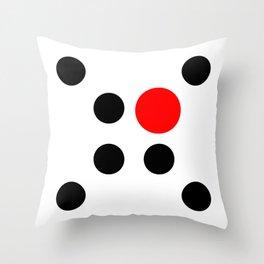 Too Big (Circles) Throw Pillow