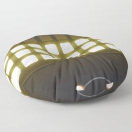 Display Panel Lights Floor Pillow