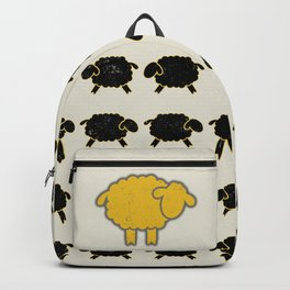 Dare To Be Different Sheep Backpack