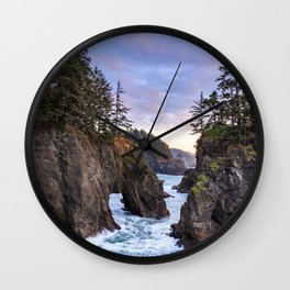 Natural Bridges Sunset Wall Clock