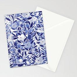 Nonchalant Indigo Stationery Cards