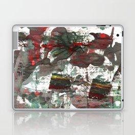Dark liver abstract watercolor Laptop & iPad Skin