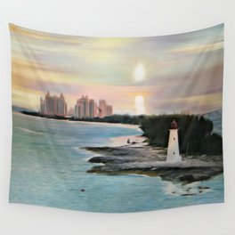 The Islands Of The Bahamas - Nassau Paradise Island Wall Tapestry