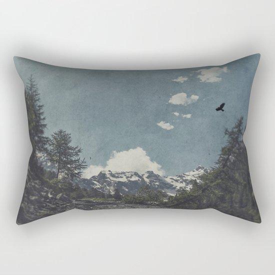 Hike a Mountain! Rectangular Pillow