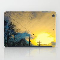 telephone iPad Cases featuring Telephone Trees by a.rose