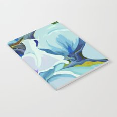 Blue Magnolia Notebook