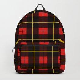 Minimalist Wallace Hunting Tartan Red Backpack