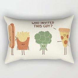 Party Crasher Rectangular Pillow
