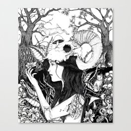 Nature goddess original Canvas Print
