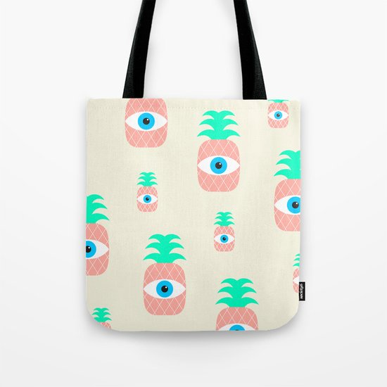 P[eye]NEAPPLES Tote Bag