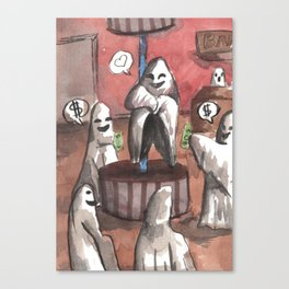 ghost cabaret Canvas Print