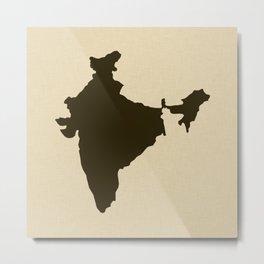 Chocolate Spice Moods India Metal Print