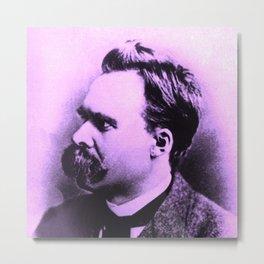 Nietzsche Baba Metal Print