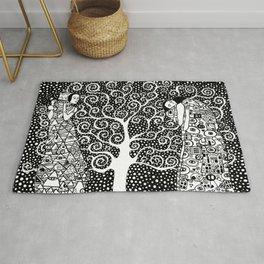 Gustav Klimt - The tree of life Rug