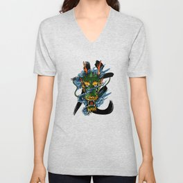 Dragon Unisex V-Neck