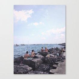 Summer at Lake Michigan, Chicago Canvas Print