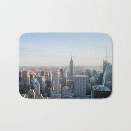Towers - City Urban Landscape Photography Bath Mat
