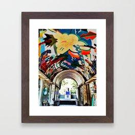 Catalina Island Ceiling Framed Art Print