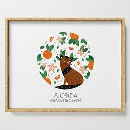 American Cats - Florida Serving Tray