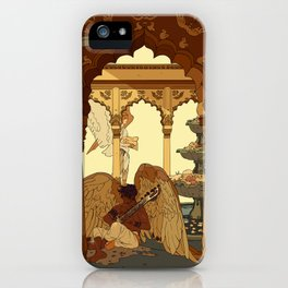 Angels in Oasis iPhone Case