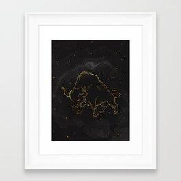 Taurus Zodiac  Framed Art Print